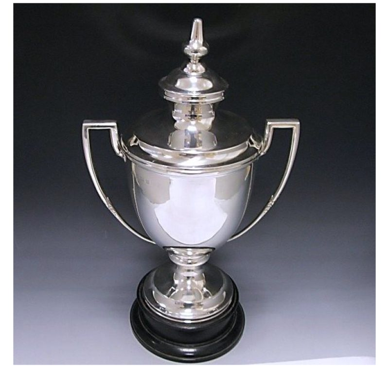 Sterling Silver Cup & Cover made in 1936