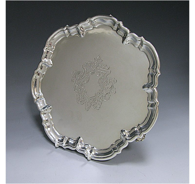 Antique Silver Salver made in 1906