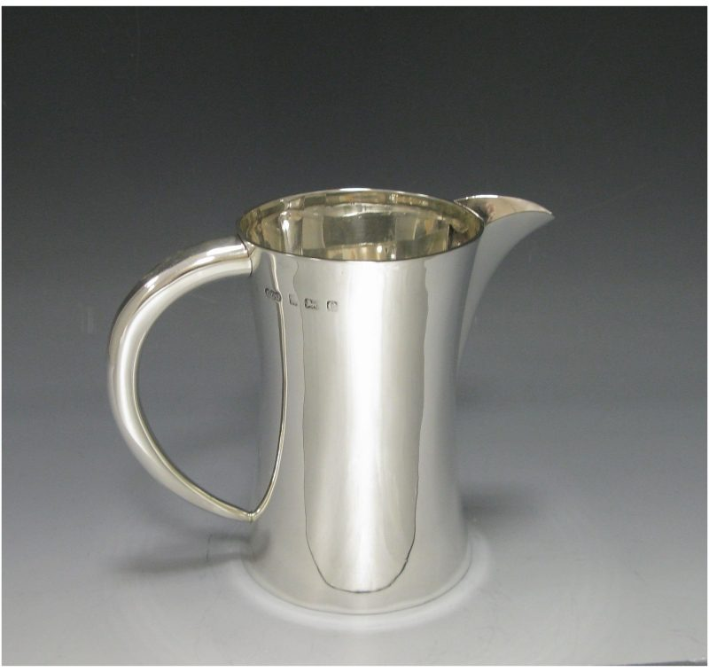 Antique Sterling Silver Edwardian Jug made in 1902