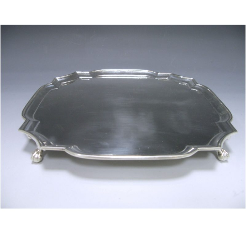 Sterling Silver George V Salver made in 1932