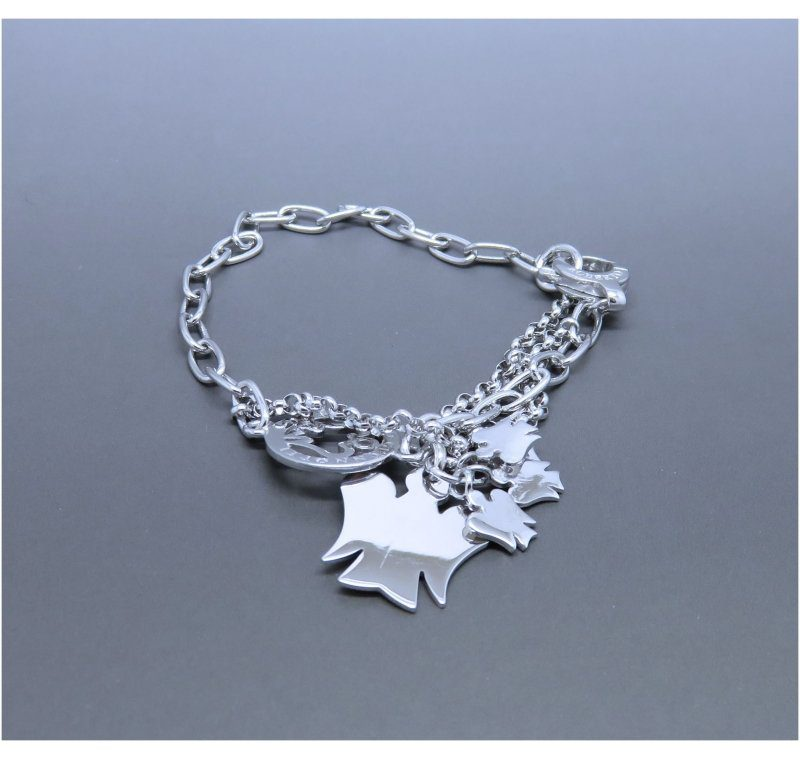 Sterling Silver Charm Bracelet made in 2014