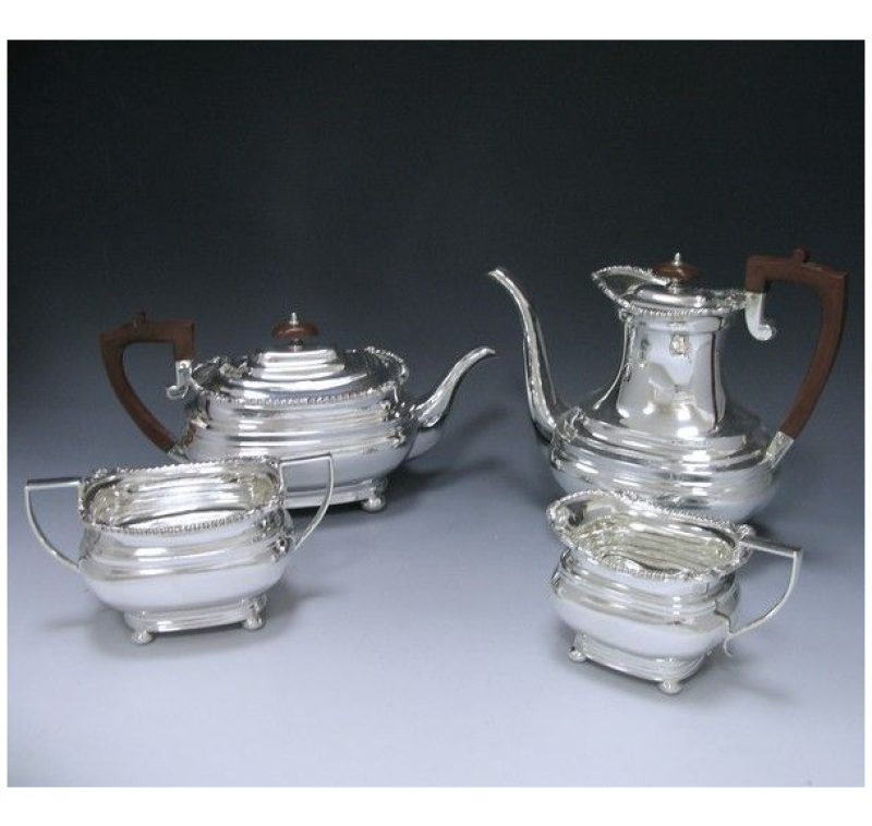 Sterling Silver George VI Tea & Coffee Service made in 1939