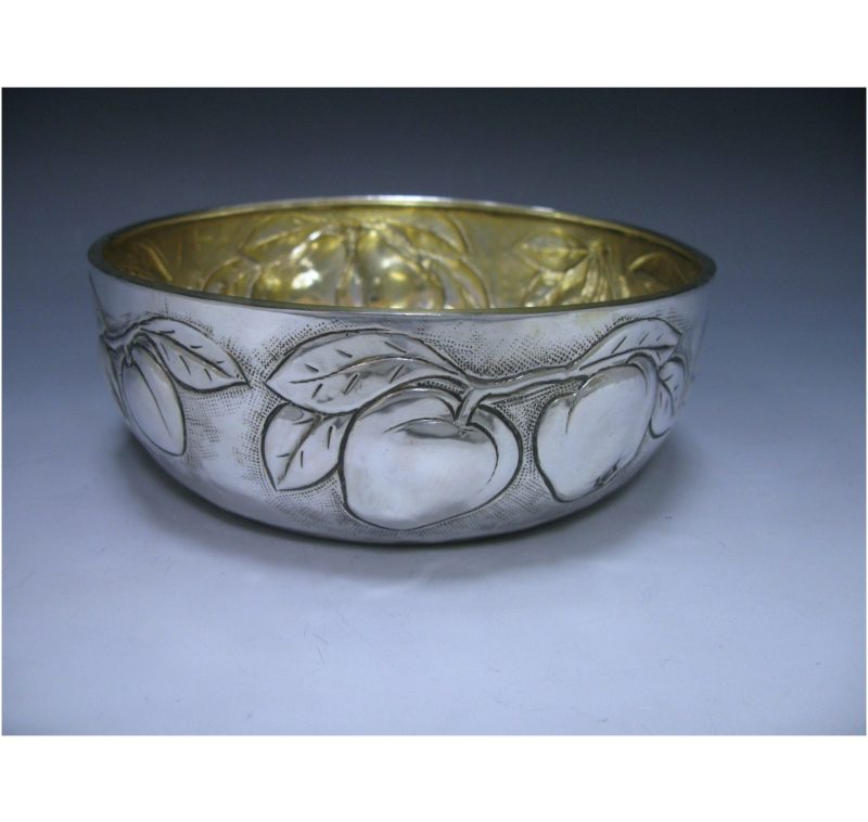 Italian Silver Fruit Bowl made in 1975