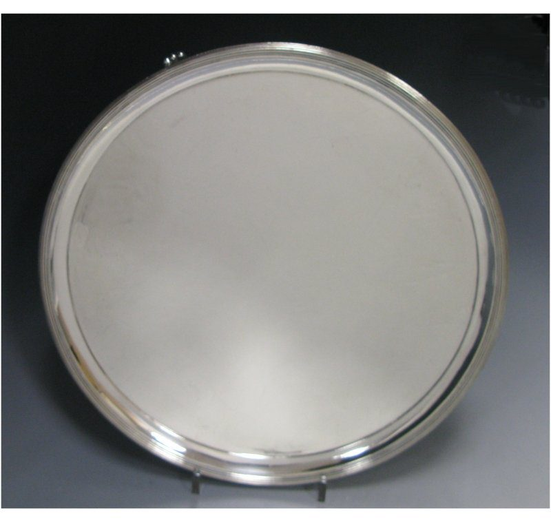 Antique Silver George III Salver made in 1791
