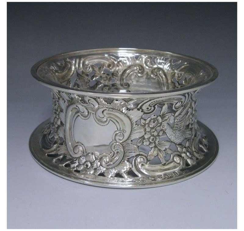 Sterling Silver Dish Ring made in 1914