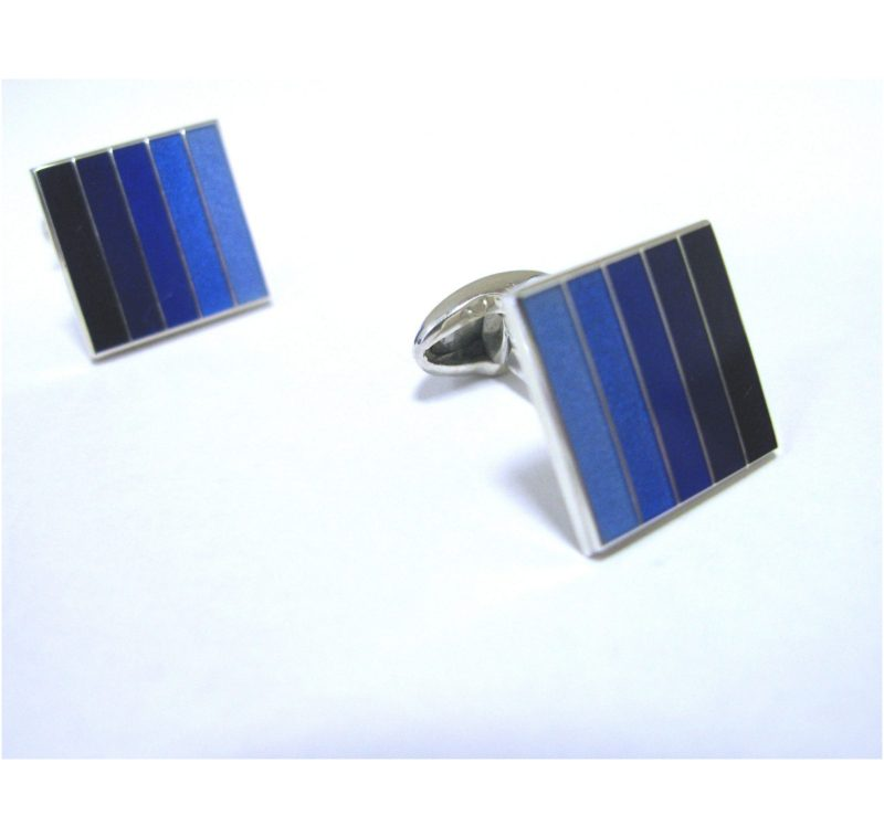 Sterling Silver Handcrafted Cuff Links made in 2014