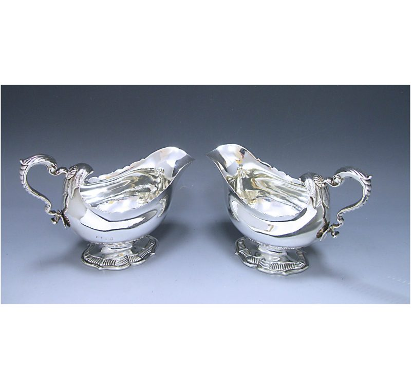 Pair of George IV Sauce Boats made in 1827