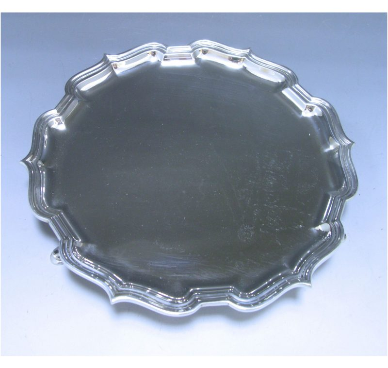 Sterling Silver Salver made in 1929