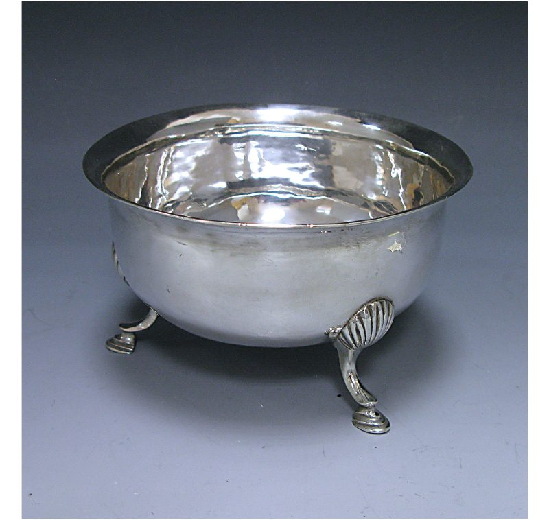 Irish Silver George III Bowl made in 1785