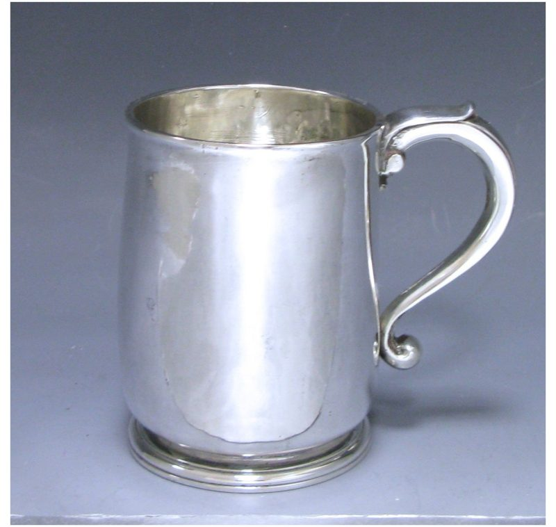 Sterling Silver Queen Anne Mug made in 1713