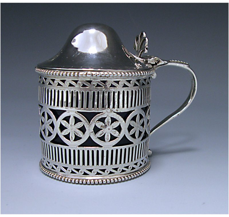 A George III Antique Sterling Silver Mustard