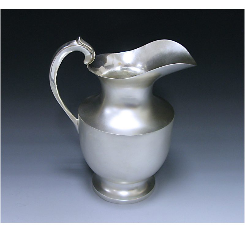 Mexican Sterling Silver Water Jug made in c.1935