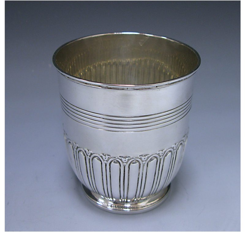 A George III Antique Sterling Silver Tankard