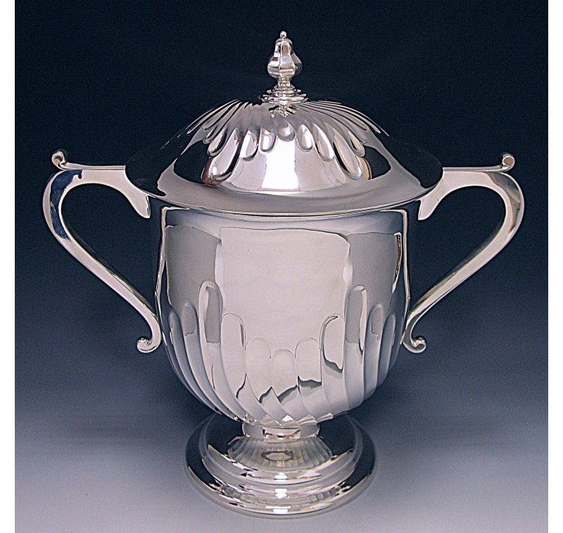 Antique Sterling Cup and Cover