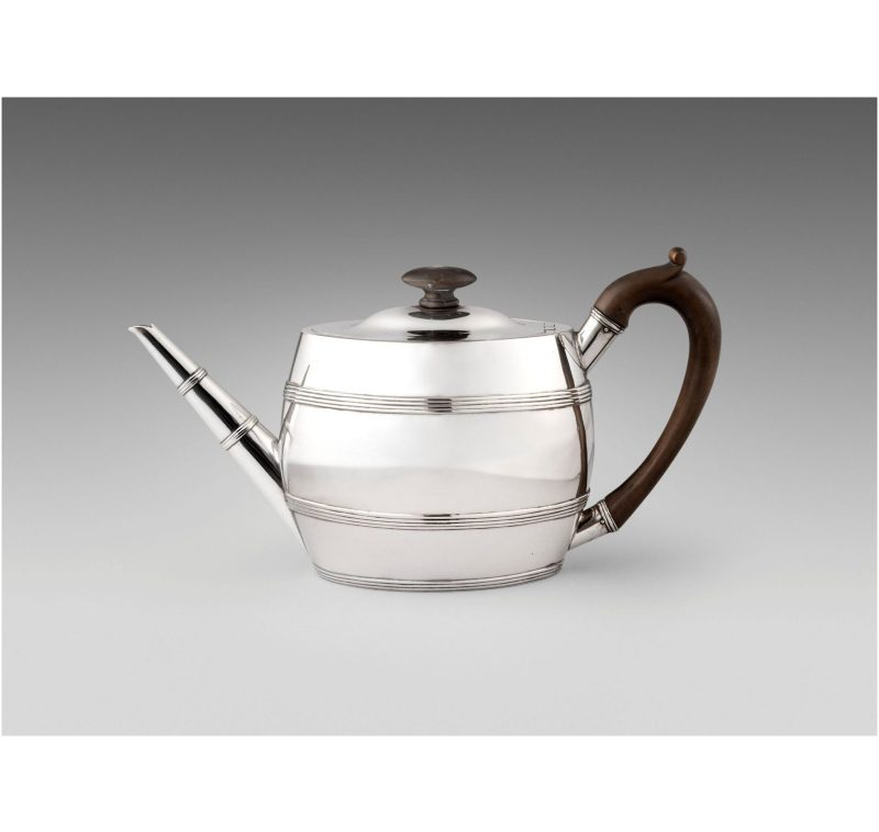Antique Silver George III Teapot made in 1790