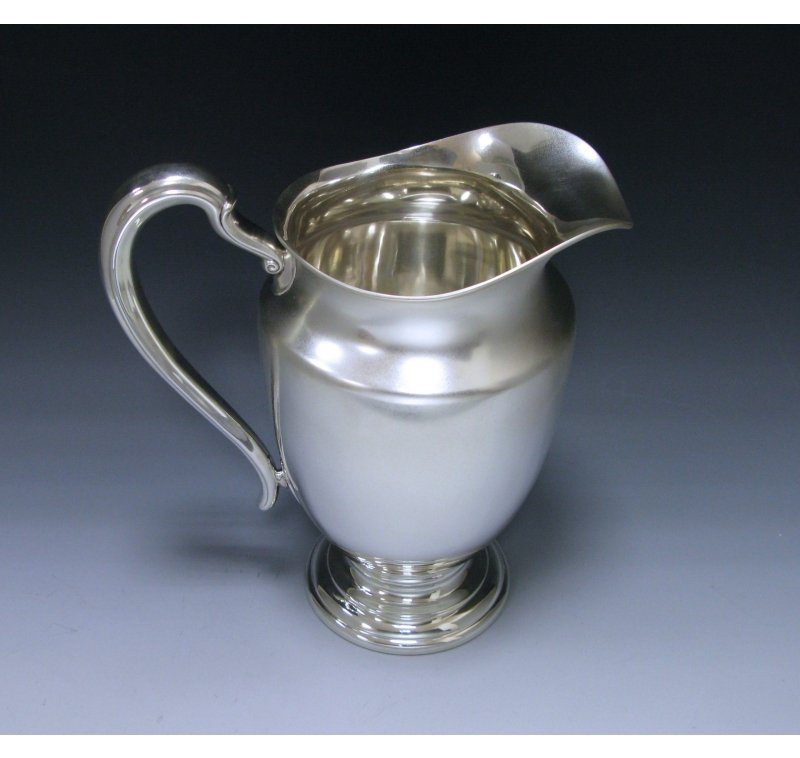 A Sterling Silver Water Jug