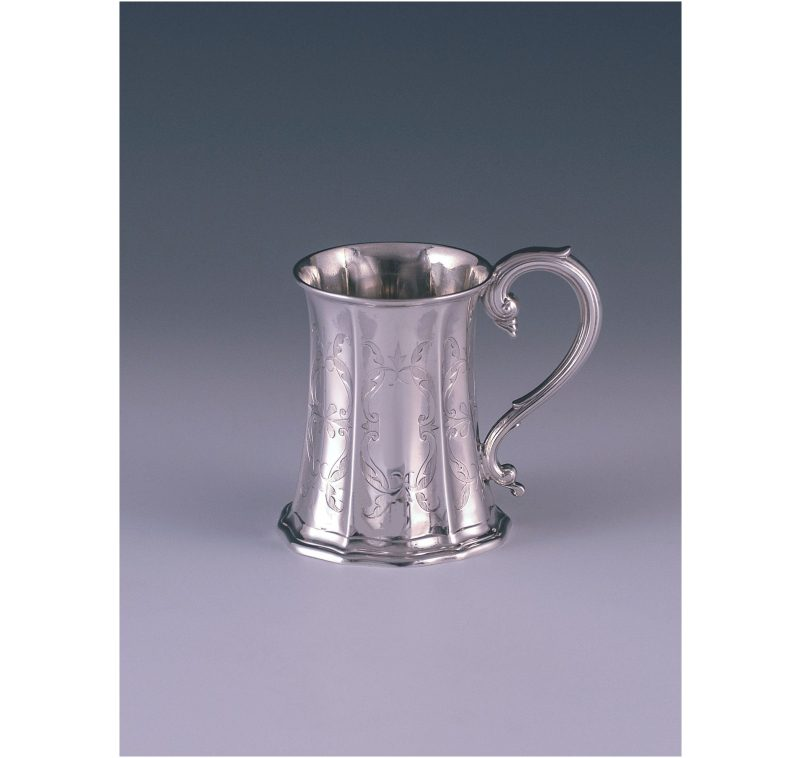 A Victorian Antique Sterling Silver Childs Mug