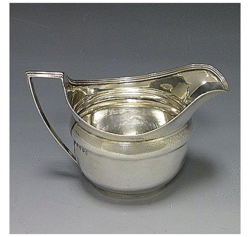 Antique Silver George III Jug made in 1801
