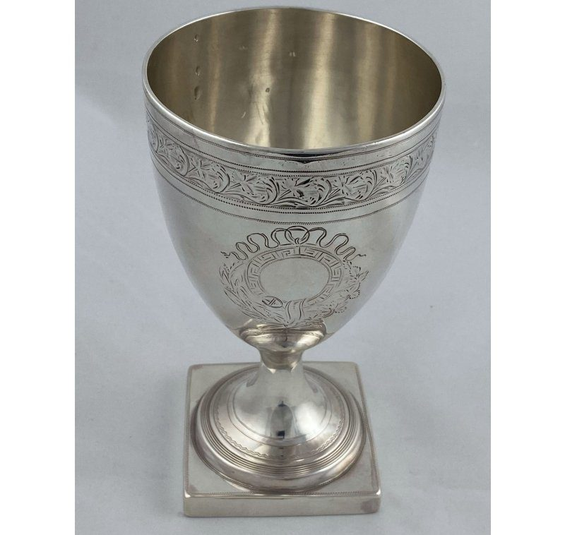 Antique Silver George III Goblet made in 1798