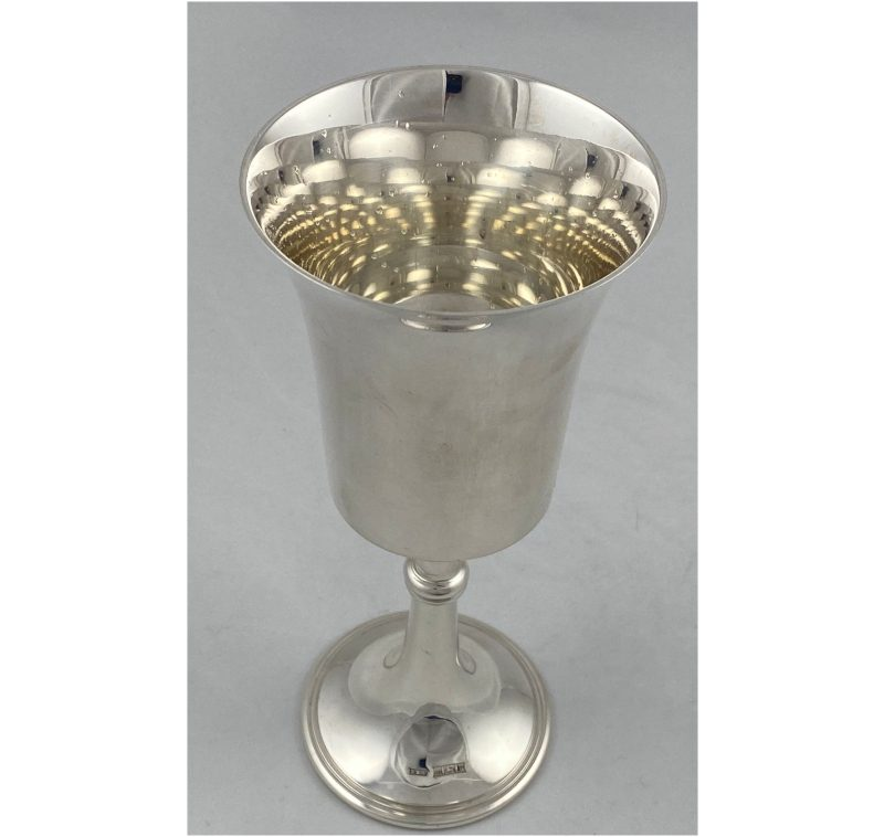Sterling Silver Champagne/Wine Goblet made in 1970