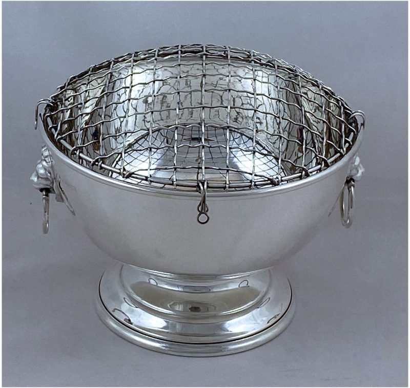 Hallmarked Silver Rose Bowl made in 1968