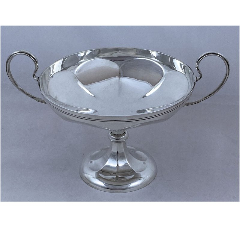 Antique Silver Art Deco Comport made in 1925