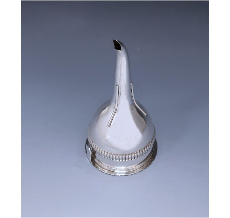 Antique Silver George III Wine Funnel made in 1813