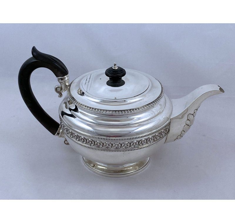Antique Silver George V Teapot made in 1913