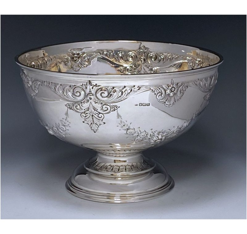 Antique Silver Edward VII Bowl made in 1904