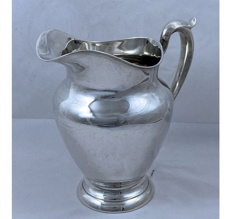 American Silver Large Water Jug made in 1959