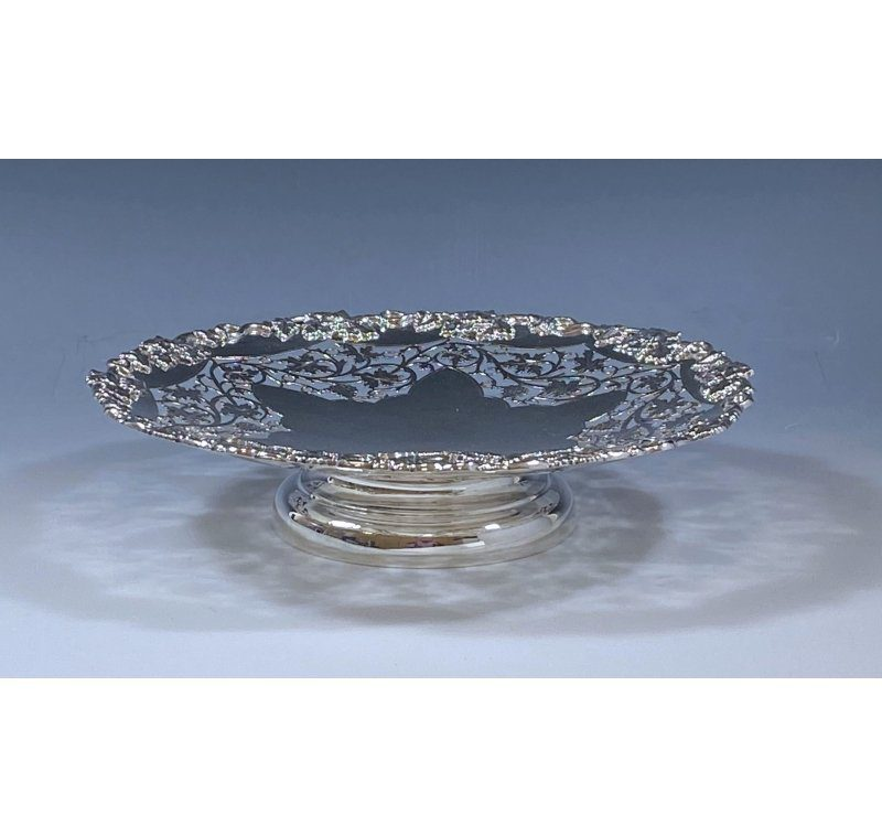 Antique Silver Edward VIII Dish made in 1936
