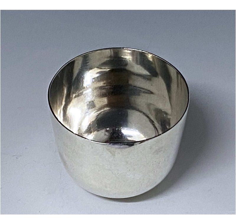 Antique Silver George V Tumbler Cup made in 1911